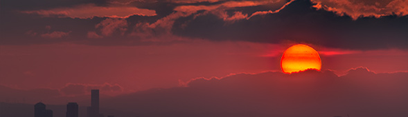 nothumb 写真 12月15日の日の出